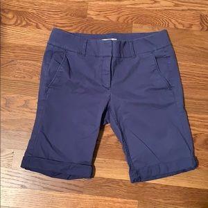 Loft Bermuda Shorts in Blue